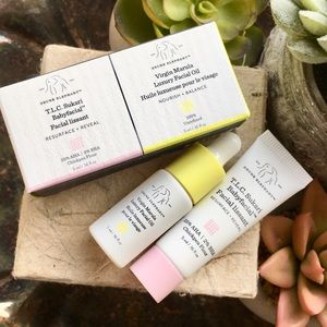 Drunk elephant babyfacial and Marula oil set NIB